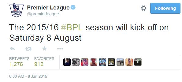 备战欧洲杯!英超宣布下赛季联赛8月8日开战