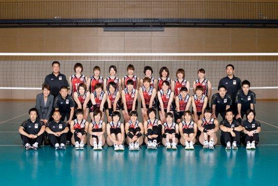日本女排名单:竹下佳江领衔20人 多重炮入围