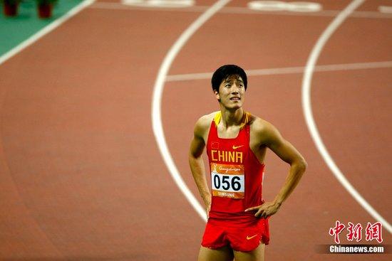 刘翔预赛成绩强于多哈13秒48已超过师父要求