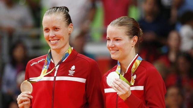 丹麦羽毛球女双组合宣布出柜 相恋8年里约曾摘银