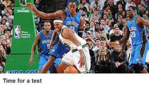 NBA官网:魔兽将遭最强挑战 魔术考验已来临