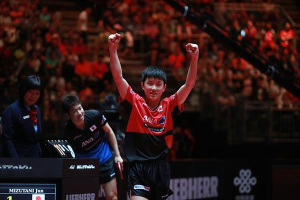 日本13岁华裔少年闪耀世乒赛 妈妈原是邓亚萍队友