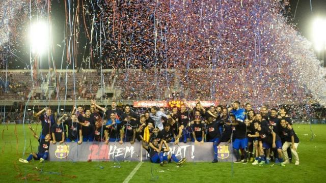 【战术板】拉玛西亚归来!巴萨梯队14冠创纪录