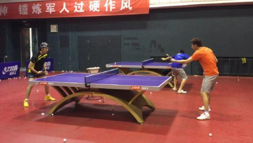 """""""广平王""""任嘉伦曾是乒球选手 与继科师出同门"""
