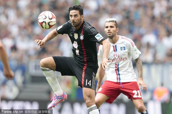 德甲-拜仁0-0汉堡 诺伊尔半场解围联赛4战2平