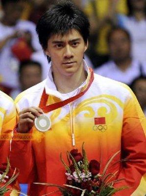 羽毛球名将之中国男双运动员付海峰