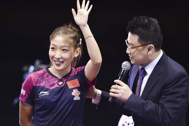 刘诗雯直言冠军是种突破 感谢教练陪聊到凌晨
