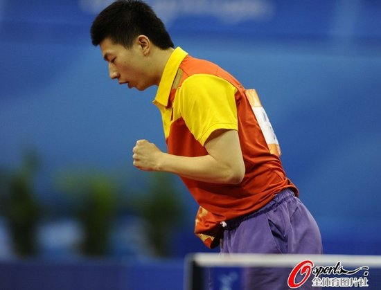 马龙零封韩国头号男单 首次打进亚运单打决赛