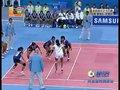 视频:女子卡巴迪决赛 泰国队拦截印度队进攻