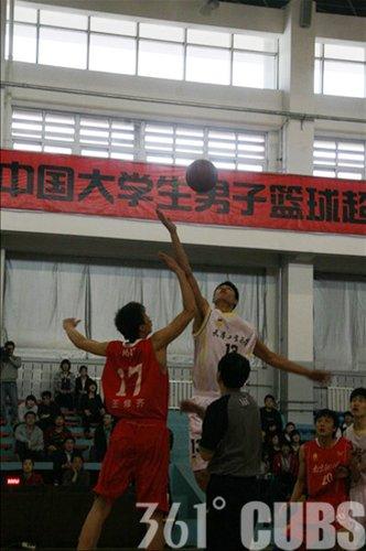 361°CUBS第十五轮:天津工大主场取得开门红