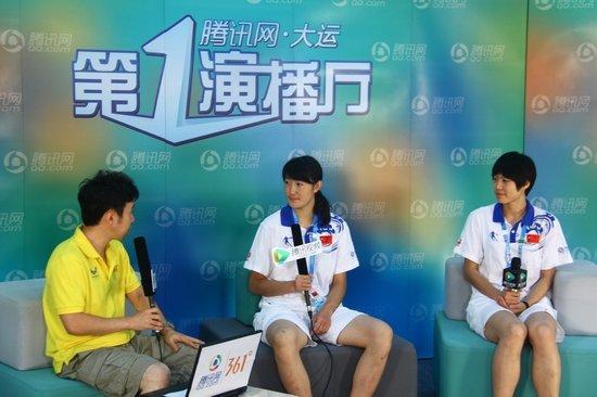 实录:张永桐郭耘菲做客 自曝发烧比赛夺金牌