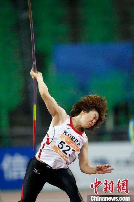 中国女子三级跳_亚运会女子三级跳远决赛 中国谢荔梅获得银牌