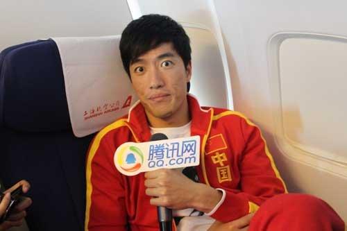 腾讯专访刘翔:未来想要俩孩子 痛恨自己赖床