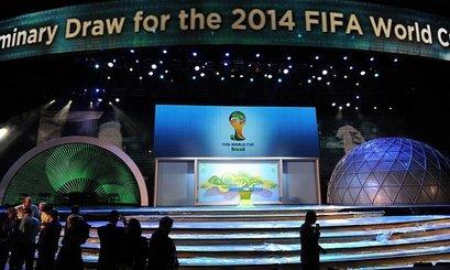世预赛抽签全结果:中国上签 西班牙死磕法国