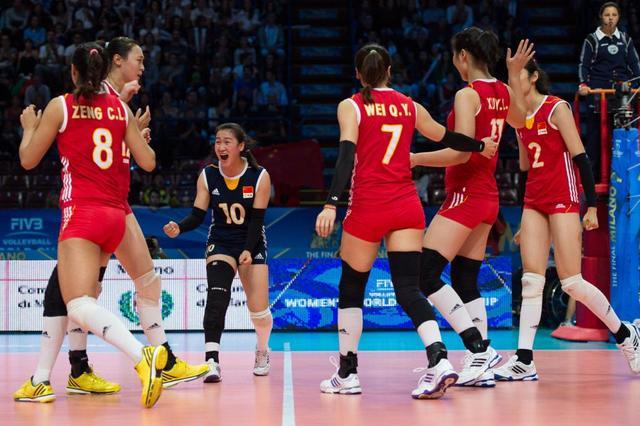 中国女排大逆转多米尼加 保留世锦赛四强希望