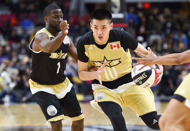 吴亦凡证明华人会打球 NBA不能缺少中国元素