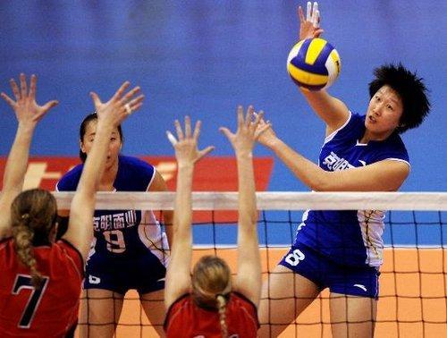 中国女排运动员范琳琳