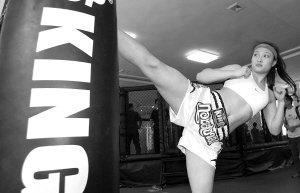 四川唯一MMA女选手谈C3:像唐金一样超越自我