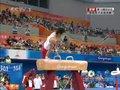 视频:体操男子全能 韩国选手鞍马动作欠舒展