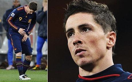 西班牙足协公布托雷斯伤情 肌肉撕裂错过季初