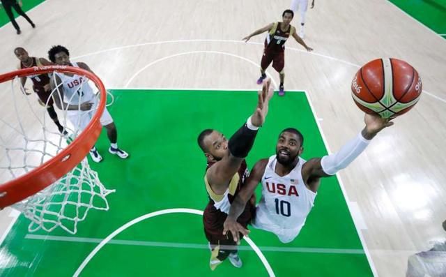 NBA@里约:乔治被晃倒遭模仿 考神为何喊妈妈