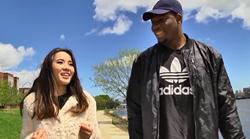"""腾讯ESPN独家探访""""小熊"""" 与美女记者大吃龙虾卷"""