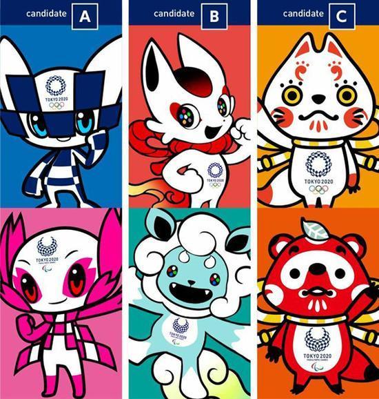 组2020东京奥运会候选吉祥物-A方案或在2020吉祥物评选中获胜 2.