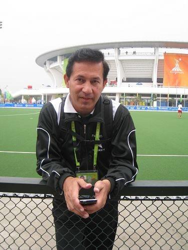 纳尔松接受腾讯体育记者采访
