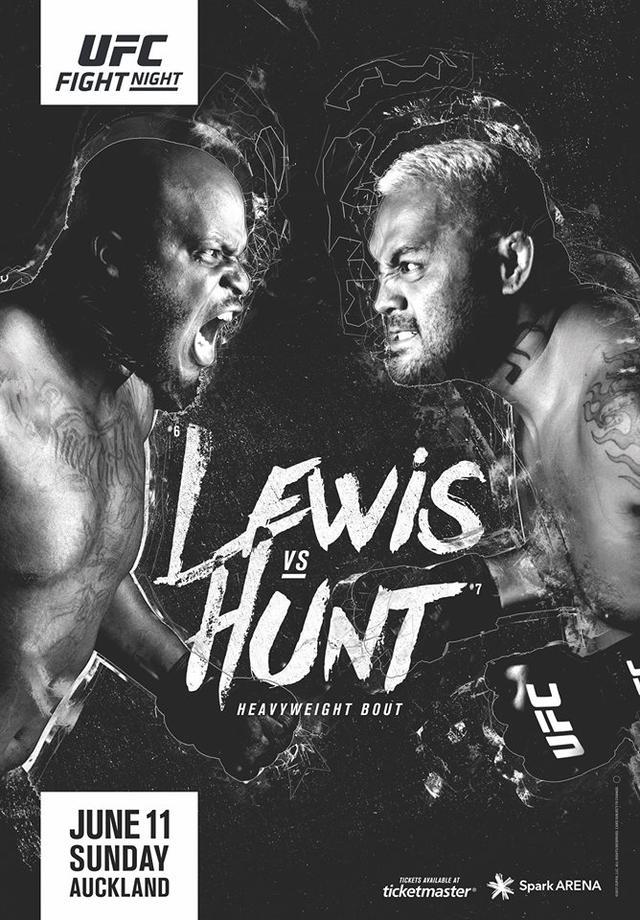 UFC格斗夜110前瞻:亨特奥克兰迎击黑色野兽
