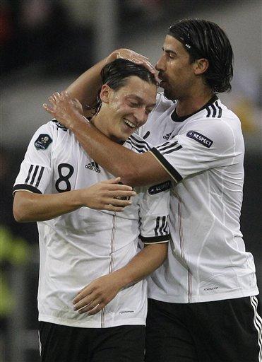 欧预赛-德国3-1比利时全胜晋级 空霸传射建功