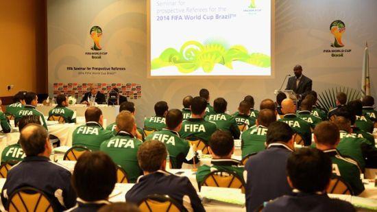 国际足联公布世界杯裁判名单 中国无人入选