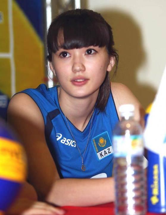 自从哈萨克斯坦的排球美女一走红后