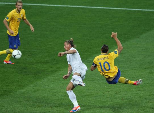 欧洲杯盘点瑞典篇:伊布仍神奇 防守葬送梦想