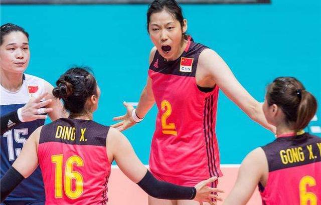 中国女排世界排名稳居第一已1年 领先美国32分