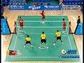 视频:藤球男团中国对大马 第一盘全程回顾