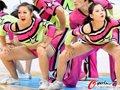 高清:亚运男篮铜牌战 篮球宝贝性感热舞助阵