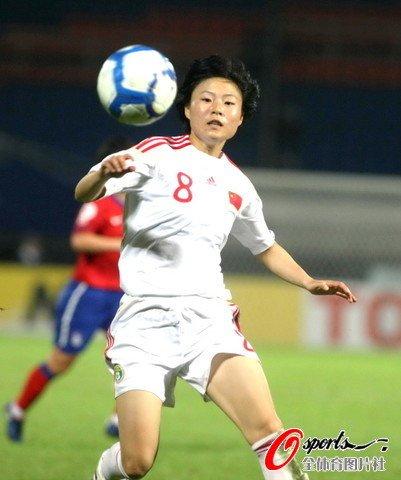 女足亚洲杯-中国队0-0逼平韩国 对手四中横梁
