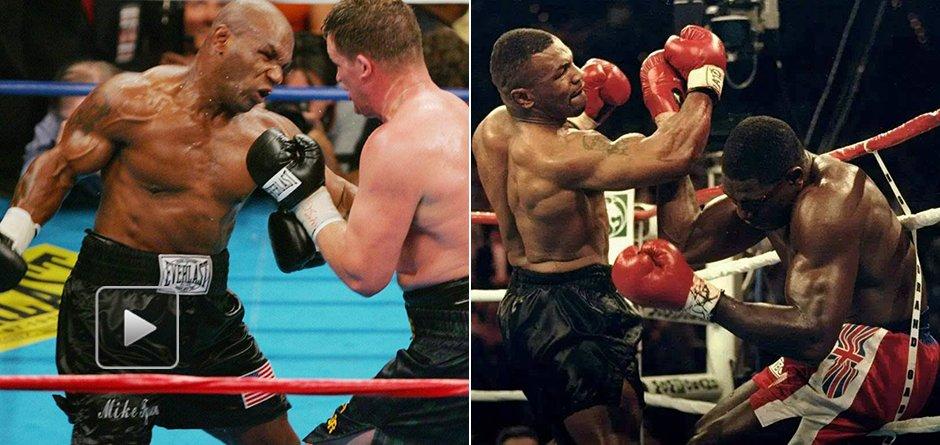 拳王泰森最经典的五大KO 暴力连环拳放倒对手