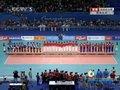 视频:广州亚运最后一场颁奖仪式 中国女排与全场观众同唱国歌