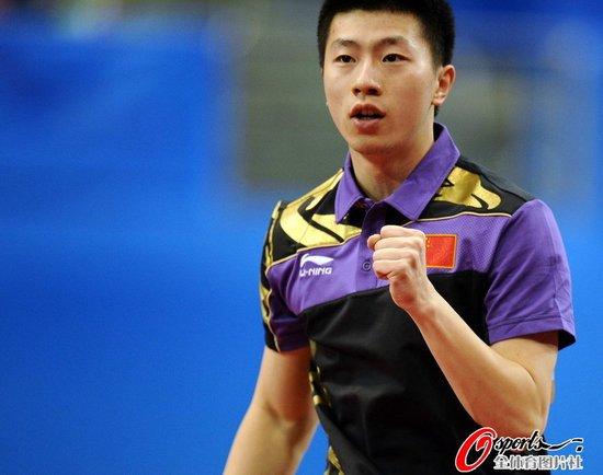 马龙胜王皓赢新老一哥之争 首夺亚运男单冠军