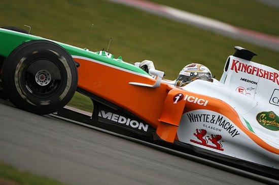 印度力量赛车性能飙升 两车手创建队最佳开局