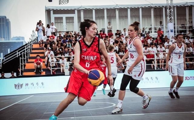 3X3U18世界杯收官日-中国女队负捷克 止步8强
