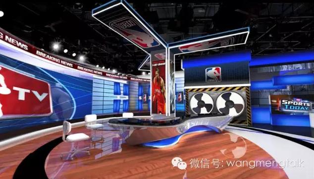 王猛:nba新时代在深圳揭幕 腾讯引领直播变革_体育