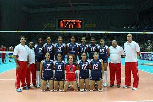 2010世界女排大奖赛多米尼加队完全名单