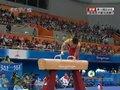 视频:体操男子鞍马决赛 严明勇动作一气呵成