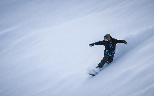访中国单板滑雪第1人:无队医教练自己管理自己_体育_腾讯网