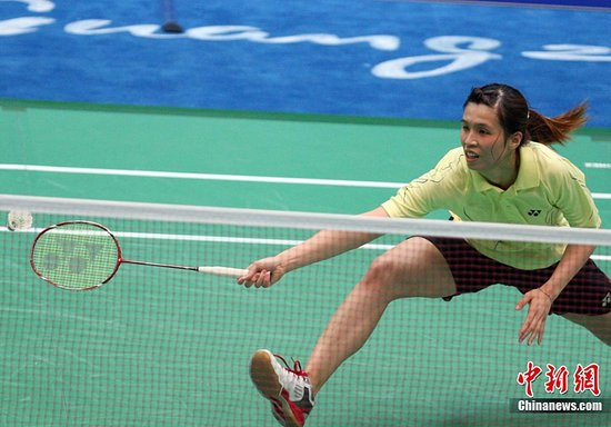 图文:羽毛球女团赛 香港不敌马来西亚遭淘汰