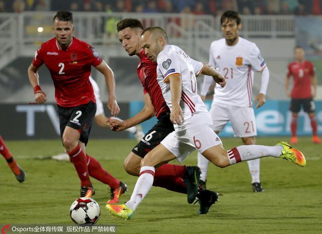 世预赛-西班牙2-0领跑 科斯塔破门拉莫斯伤退