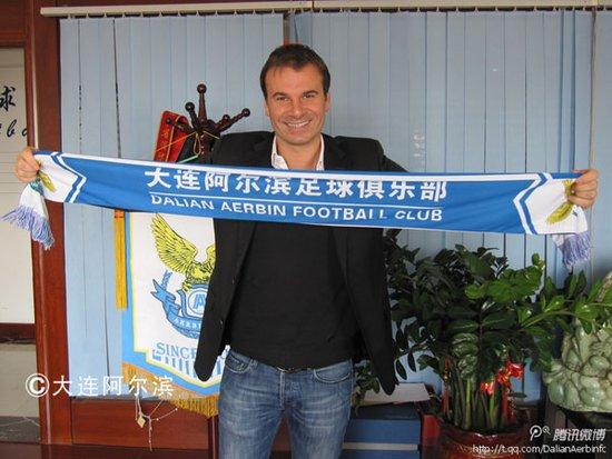 阿尔滨官方宣布新主帅 塞尔维亚欧冠名帅接手