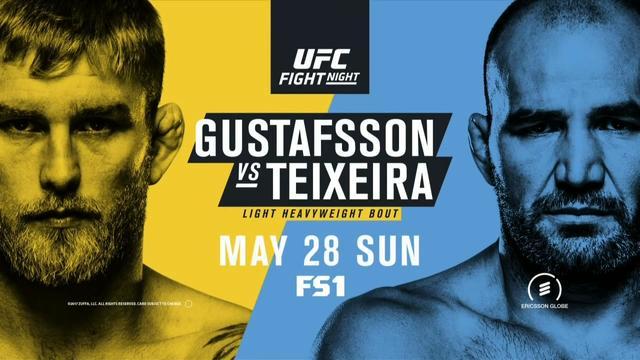 UFC格斗之夜109:古斯特福森瑞典对决特谢拉